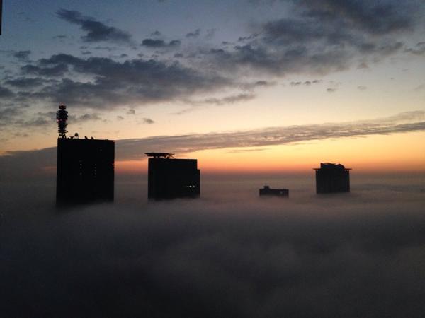さいたまの霧