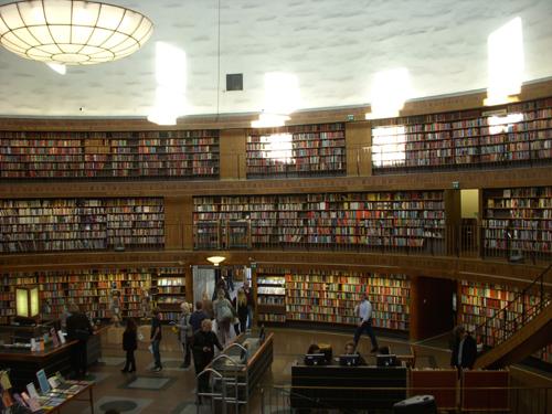 ストックホルム図書館