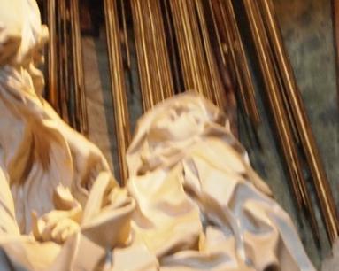 聖女にあるまじき表情?