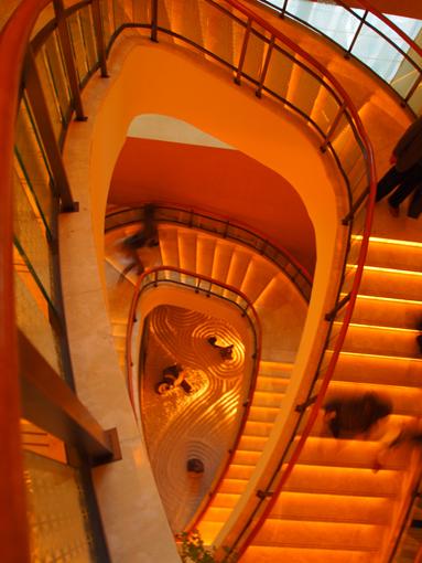 ペニンシュラの階段