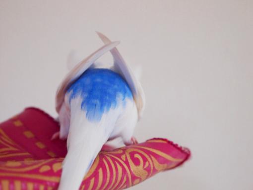 尻尾をあげろぉぉ~~~。