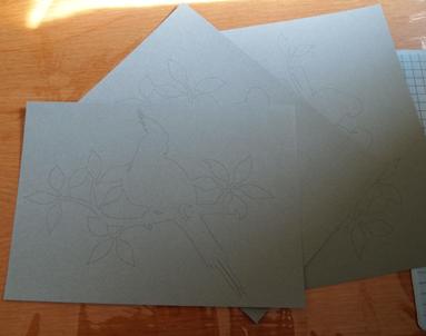 紙にプリント