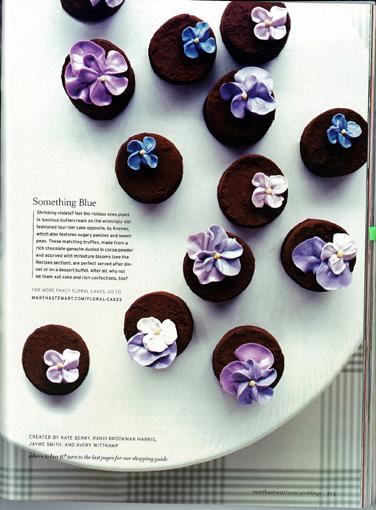 スミレのチョコレート
