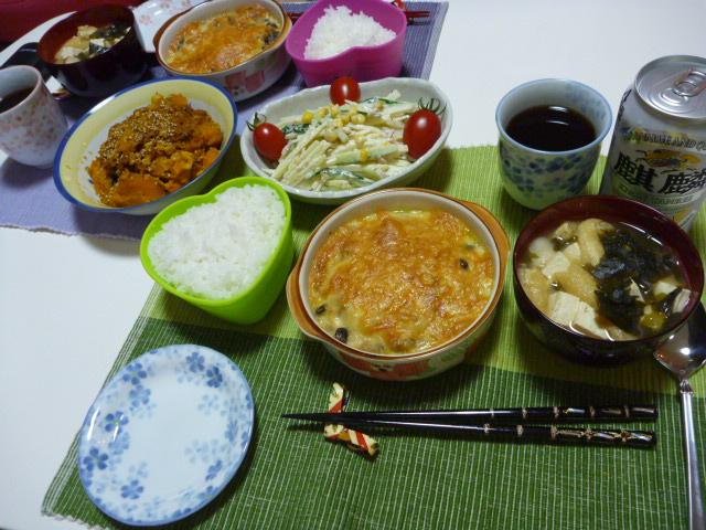 20110515 本日の「なかじま家の食卓」