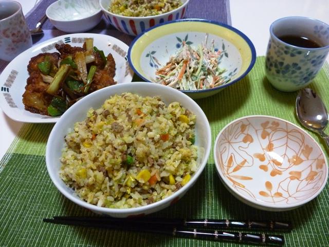 20100520 本日の「なかじま家の食卓」