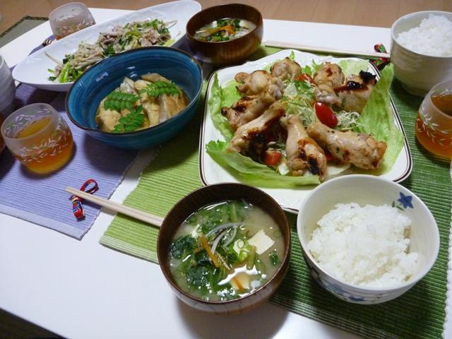 20110522 本日の「なかじま家の食卓」