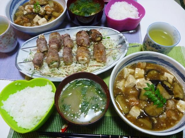 20110527 本日の「なかじま家の食卓」