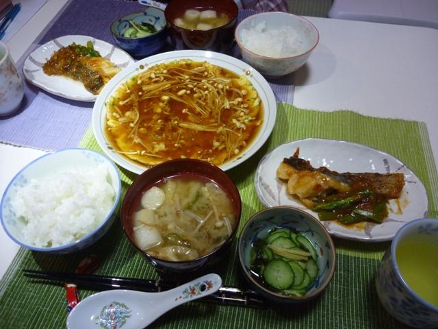 20110529 本日の「なかじま家の食卓」