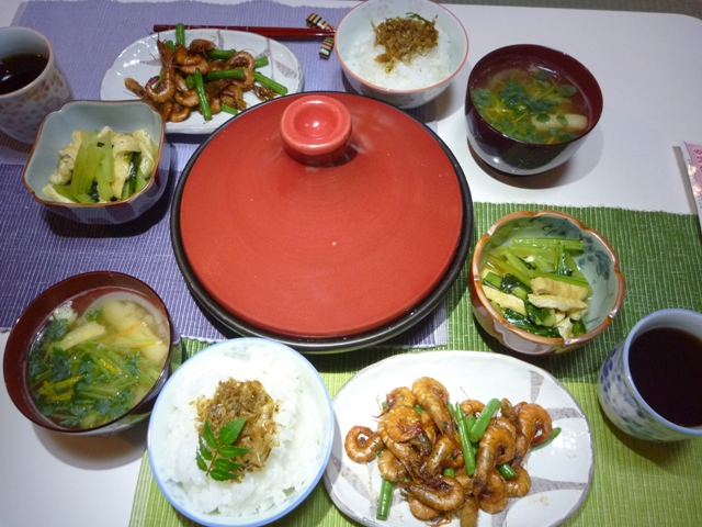 20110603 本日の「なかじま家の食卓」