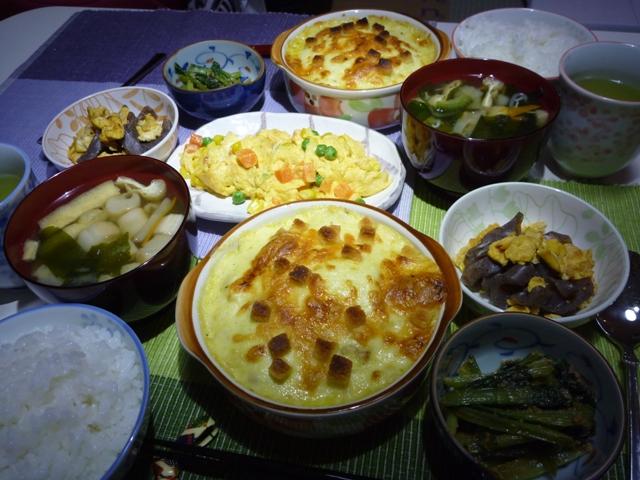 20110605 本日の「なかじま家の食卓」