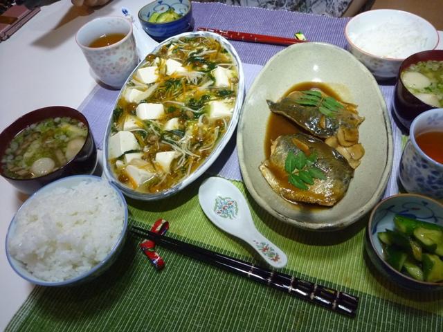 20110614 本日の「なかじま家の食卓」