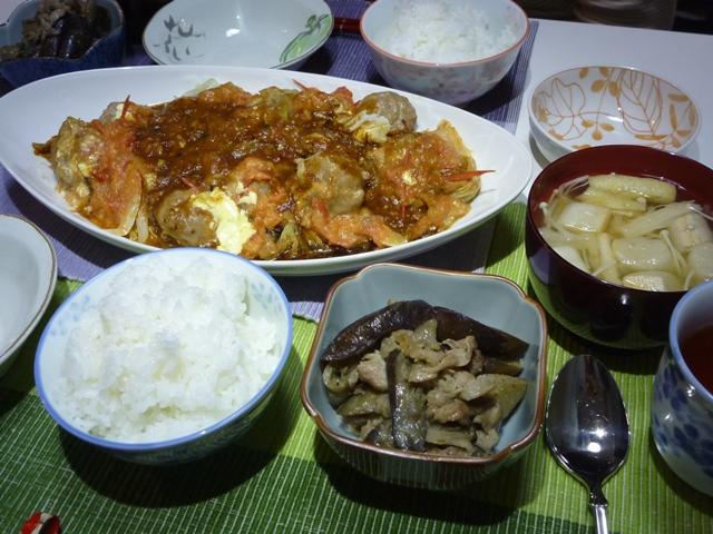 20110619 本日の「なかじま家の食卓」