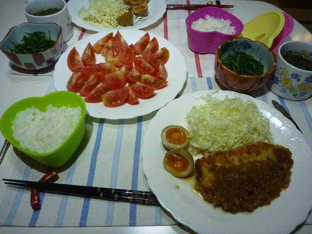 20110622 本日の「なかじま家の食卓」