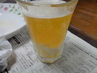 ビールフロート