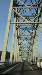北上川にかかる橋 国道284号線