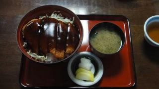 あんかけかつ丼 小角食堂