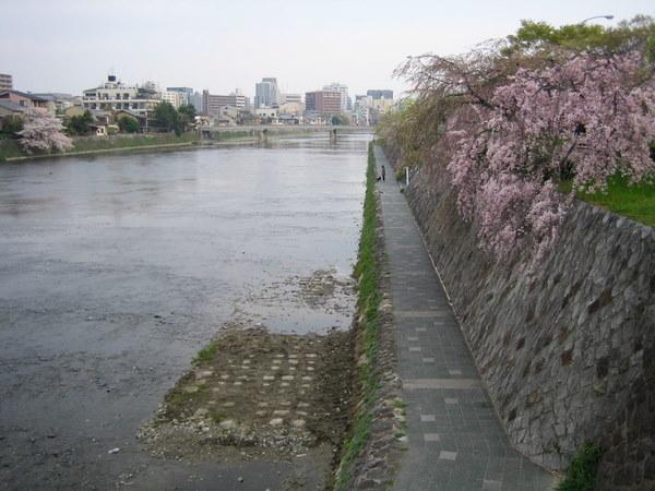 鴨川・七条大橋