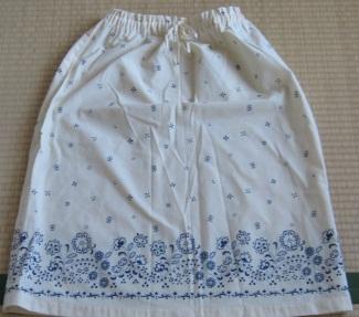 昔のスカート