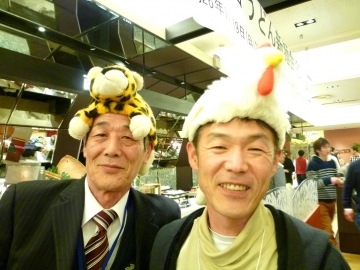 日の出さん&四国新聞さん