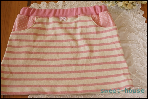 DSC03427 ニットスカート平おき