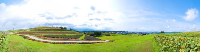 北海道の大自然パノラマ001