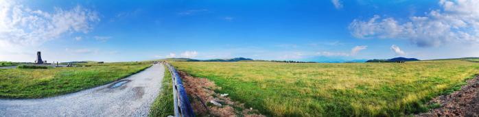 美ヶ原高原のパノラマ写真002