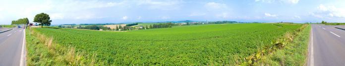 北海道の大自然パノラマ002