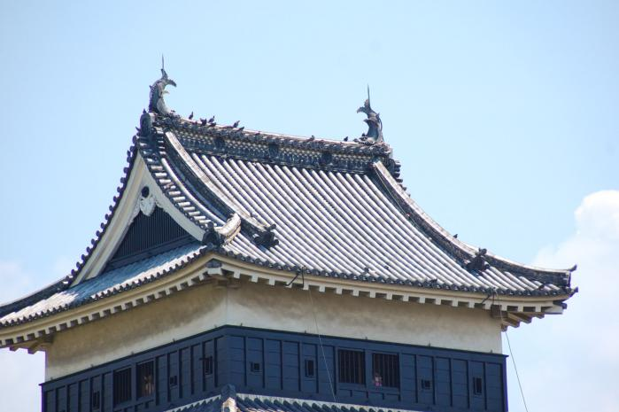 松本城の鯱
