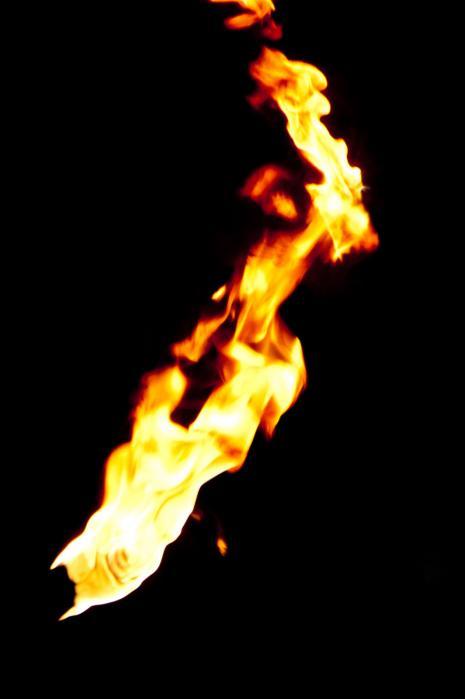 炎・火のフリー素材写真001