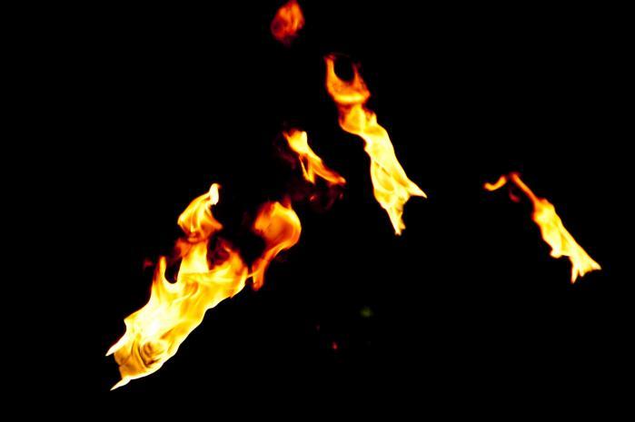 炎・火のフリー素材写真002