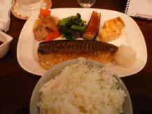 和定食(鯖の塩焼き)