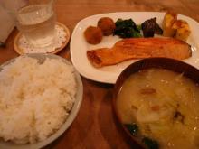 和定食(サーモン西京焼き)