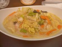 野菜たっぷりあったかちゃんぽん(120121)