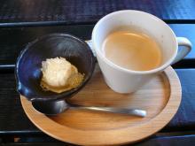 ミニデザート・コーヒー