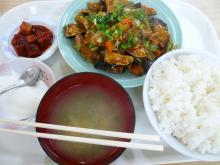 魚香茄子(なすと豚肉辛み炒め)