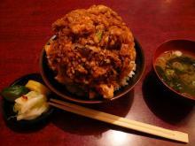 かき揚げ丼(小)