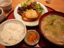 おろし豆腐ハンバーグ膳