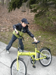 自転車(モエレ4月)
