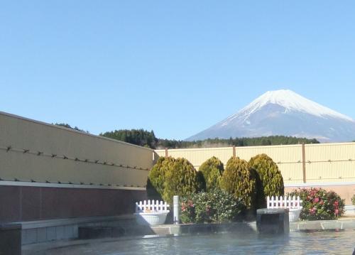 5000露天風呂富士山