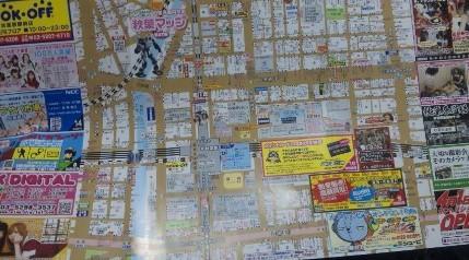 akiba map