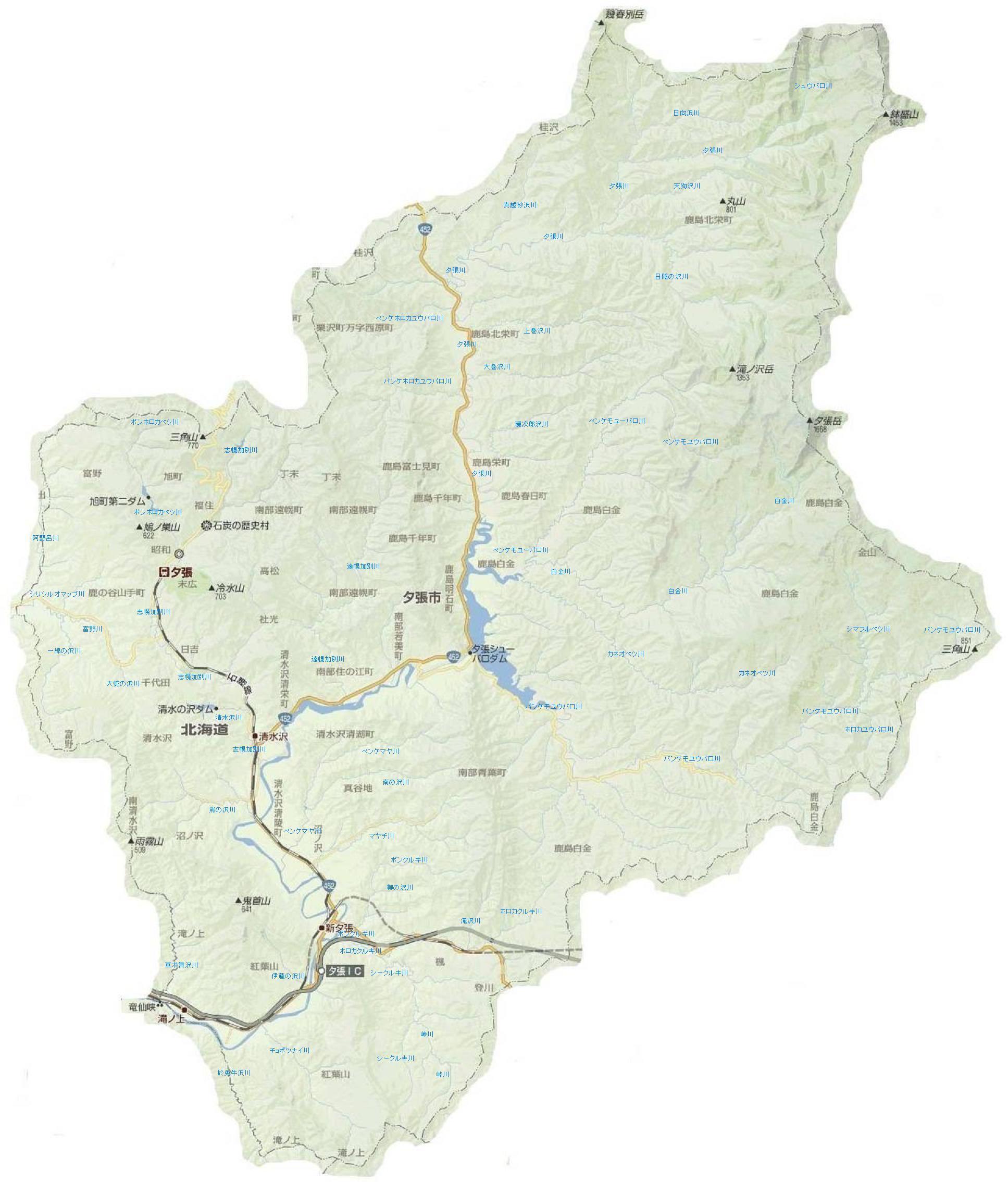 夕張河川地図3