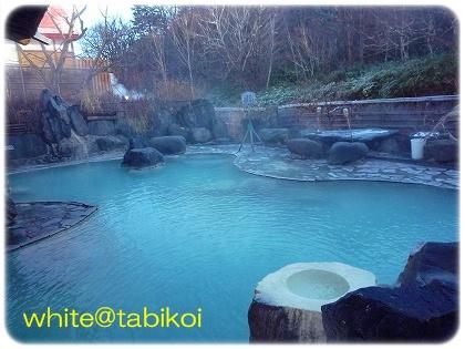 松川の露天風呂