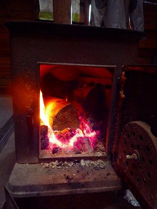 本沢の暖炉