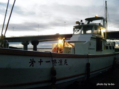 20111112豊漁丸出船前