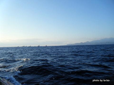 20111230初島沖キンメ船団