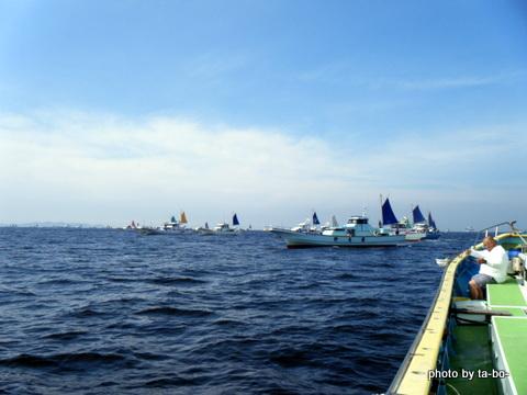 20120623イサキ船団