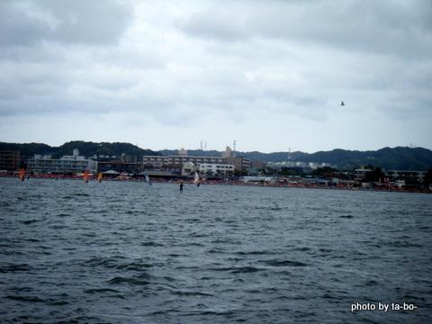 20120811帰港時の海岸