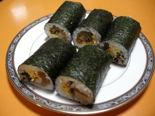 10.2.3 節分 巻き寿司