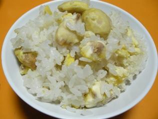 2010 栗ご飯
