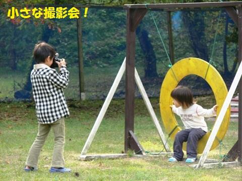 小さなカメラマン
